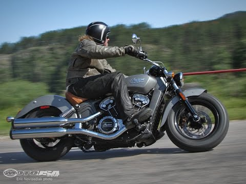 Indian MotorCycle Scout User Review