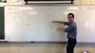 Equation of Path Example Question (1 of 2): Identifying Important Features