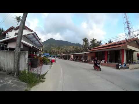 Mit dem Motoroller durch Koh Phangan