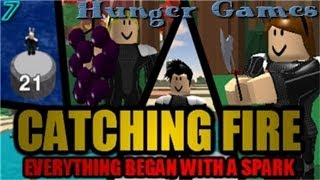 Roblox Catching Fire: The Hunger Games [Jeu 7]
