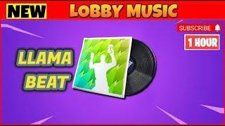 FORTNITE LLAMA BEAT (LLAMA BELL Remix) 1 HOUR | FORTNITE 1 HOUR MUSIC PACK (Lobby Music)