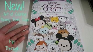 Art of Coloring Disney Tsum Tsum - Flip Through - New Characters!!