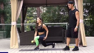 Buttocks Workout With Weights 38 min