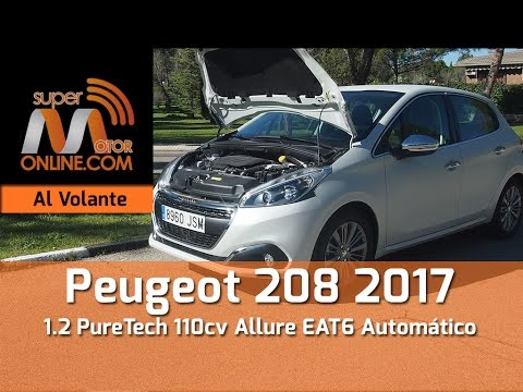 peugeot 208 allure 2017 al volante prueba din mica review youtube. Black Bedroom Furniture Sets. Home Design Ideas
