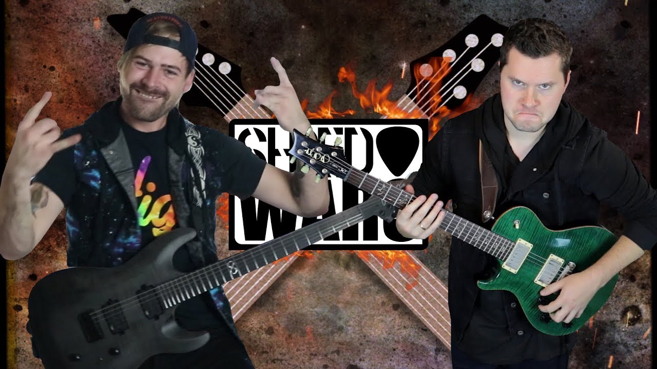 Shred Wars Jared Dines Vs Music Is Win Youtube