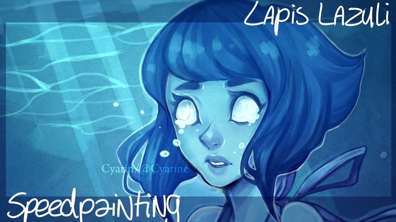 lapis lazuli steven universe fan art youtube