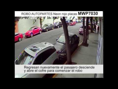 Robo autopartes Santa Maria la Ribera