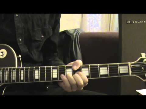 Bloc Party - Banquet (Tutorial/Cover,Intro both guitars, one guitarist)