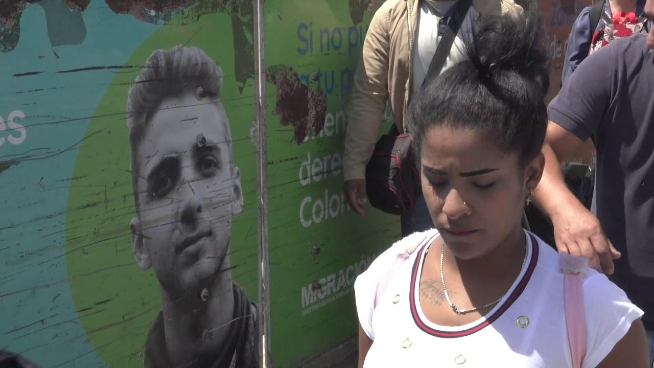 CIDH visita a la frontera de Colombia con Venezuela