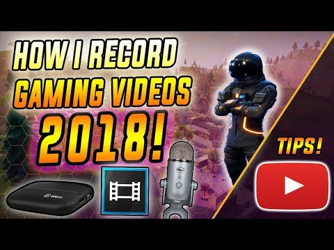 How I Record My Gaming Videos! (2018 Gaming Youtube Channel Equipment!)