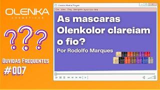 DUVIDAS FREQUENTES #007 - As mascaras Olenkolor clareiam o fio?