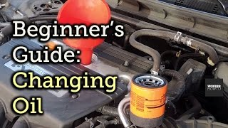 Beginner's Guide to Changing Oil [How-To]
