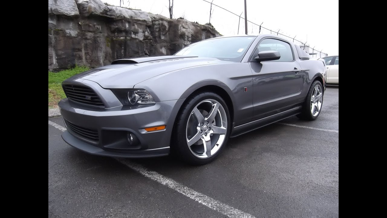 2014 Roush Stage 2 Ford Mustang Sterling Grey 301a Package