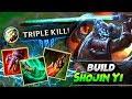 🔥BUILD SHOJIN YI🔥| ¿Su Mejor Build? 🤔 | LoL | SeVenJungle