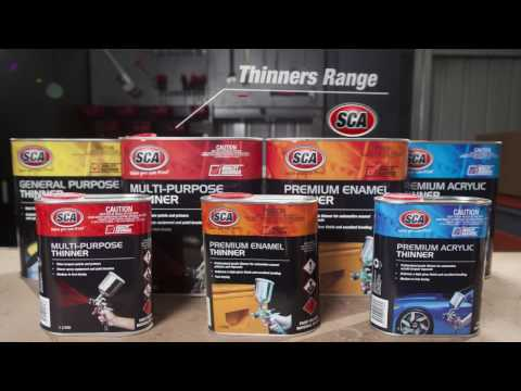 How to Choose Paint Thinners