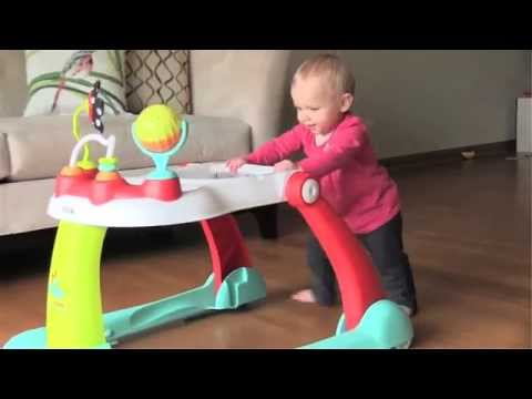 Kolcraft Tiny Steps 2-in-1 Activity Walker - Endless Enjoyment For Baby