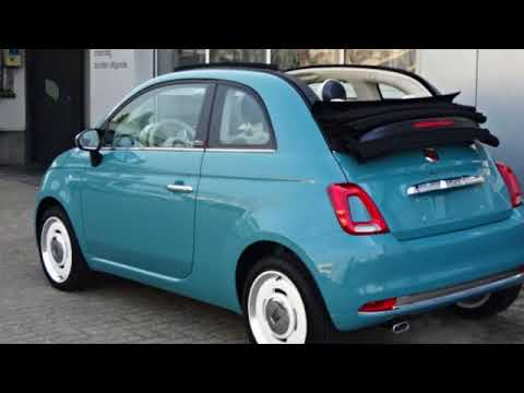 fiat 500c cabrio twinair 80 anniversario youtube. Black Bedroom Furniture Sets. Home Design Ideas