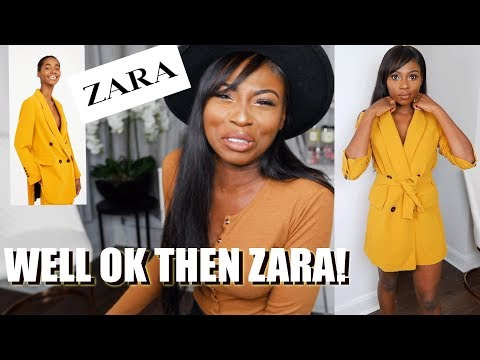 A REAL LIVE ZARA CLOTHING UNBOXING...IS IT AS GOOD AS I REMEMBER?...BECAUSE ITS BEEN YEARS!