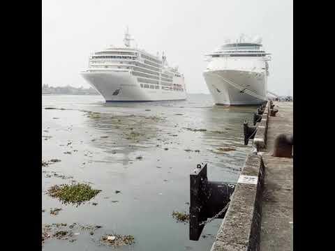 Cruise ship Cochin Port