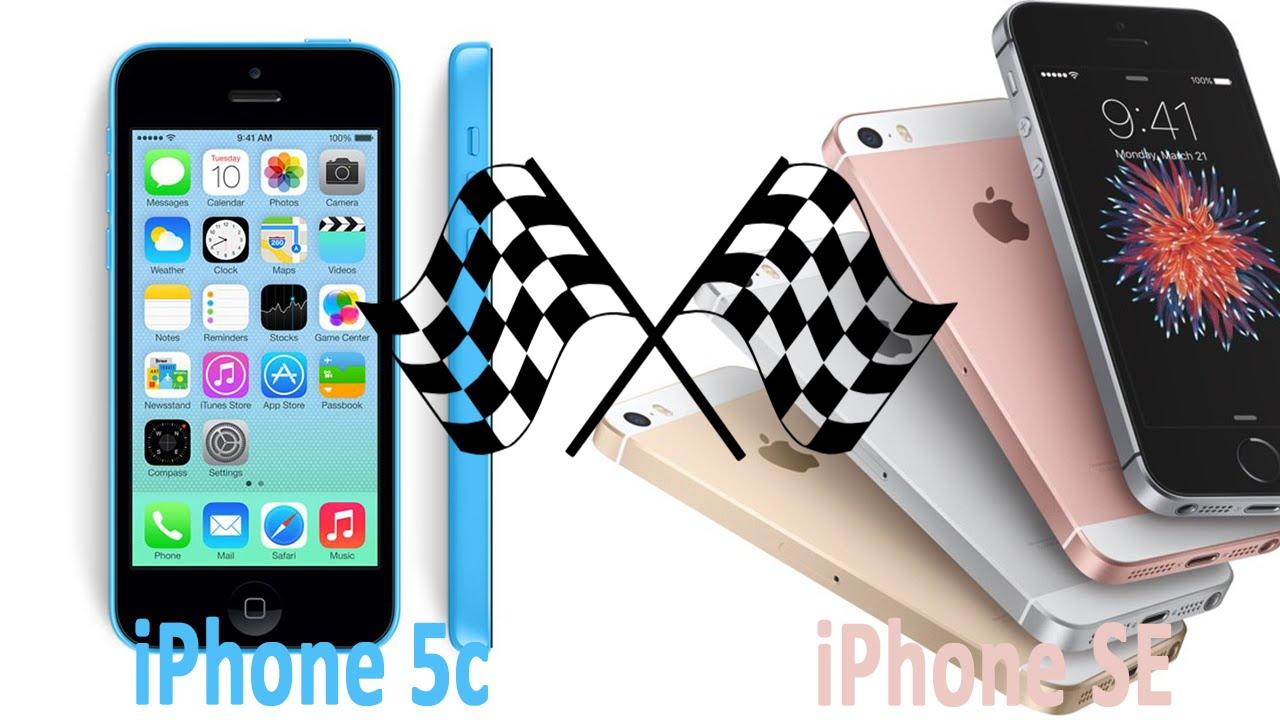 iPhone SE vs iPhone 5c/5 Speed Test