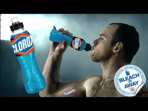 THE NEW ENERGY DRINK FROM CLOROX PARODY BLEACHITAWAY