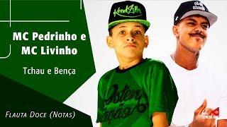 Baixar MC Pedrinho e MC Livinho - Tchau e Bença - Flauta Doce (Notas)