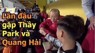 Thử Thách Bóng Đá Đỗ Kim Phúc đưa Duy Trung đi gặp Quang Hải và HLV Park Hang Seo , Trần Đình Trọng