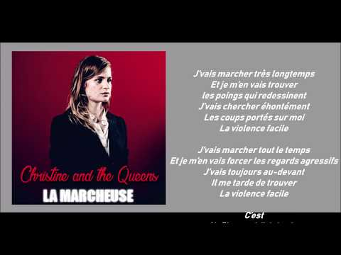 Christine and the Queens - La Marcheuse (Lyric video)
