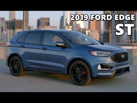 2019 ford edge st driving exterior interior youtube. Black Bedroom Furniture Sets. Home Design Ideas
