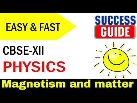CBSE XII Physics Magnetism and matter - 5  Elements of Earth's magnetic field by Success Guide