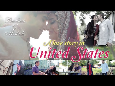 MOST Romantic Bollywood Couple in United States MUST WATCH // Misbah & Burhan