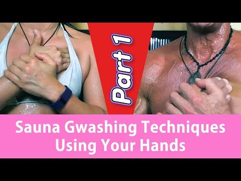 Sauna Gwashing Techniques Using Your Hands Part 1 | Dr. Robert Cassar