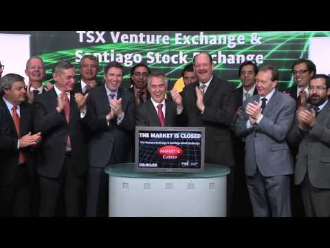TSX Venture Exchange & Santiago Stock Exchange closes TSX Venture Exchange, March 3, 2014.