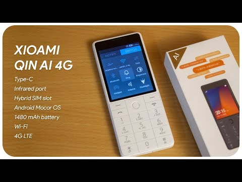 Xiaomi Qin AI 4G Phone Indian Unboxing & Handson
