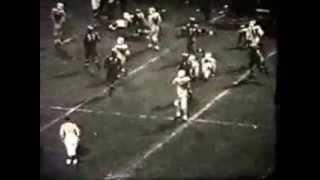 Monessen vs New Kensington 1962 football game