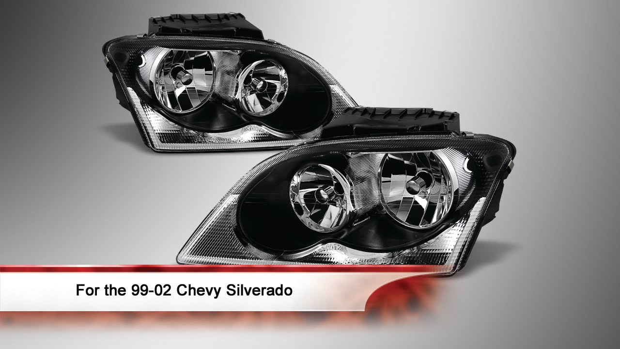 04 06 Chrysler Pacifica Halogen Oem Style Headlights