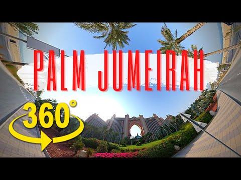Palm Jumeirah Dubai   360 video