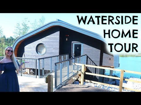 LUXURY LODGE HOME TOUR OF CENTER PARCS WATERSIDE LODGE  |  V