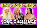 Taylor Swift, Selena Gomez and Britney Spears? Guess The Song Challenge. Totally TV