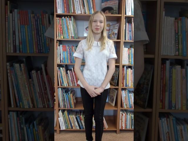 Изображение предпросмотра прочтения – АнжелаПопова читает отрывок изпроизведения «Железная дорога» Н.А.Некрасова