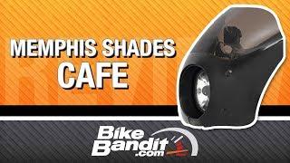 Memphis Shades Cafe Fairing at BikeBandit.com