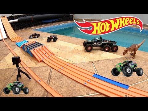 Hot Wheels Monster Jam Pista Capote na Elevação - Carrinhos de Brinquedos #81