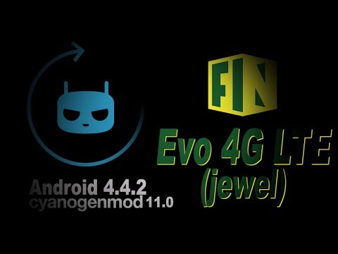 Install CyanogenMod 11.0 Android 4.4.2 KitKat to Your Evo 4G LTE (Updated 3/2014)