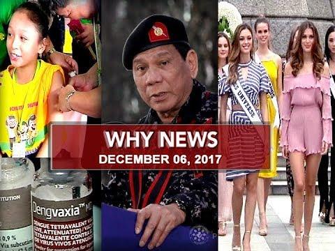 UNTV: Why News (December 6, 2017)