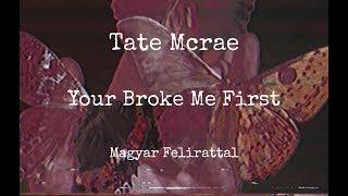 Tate Mcrae - you broke me first mag...