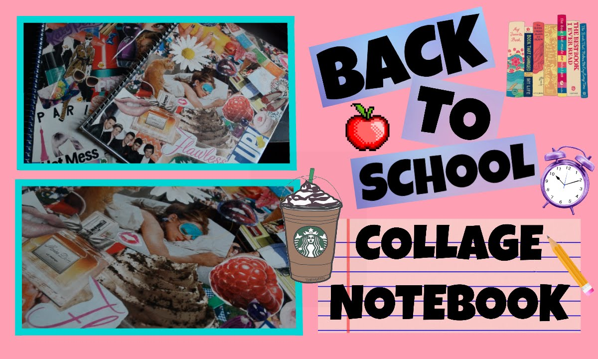Back To School Collage Notebooks Youtube