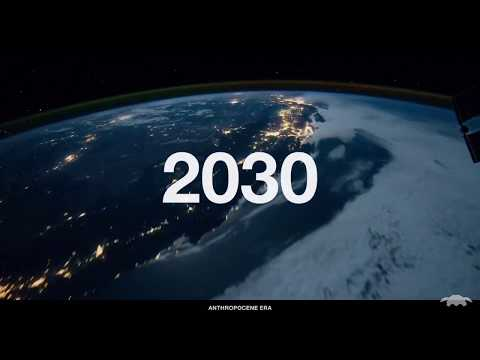 TIMELAPSE OF THE FUTURE with calm background music