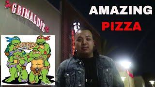 Grimaldi's Pizzeria Review. Feeding 1st Responders of Hurricane Harvey. Best Pizzas in Houston 2017