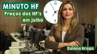 Minuto HF: Preços dos HF's em julho