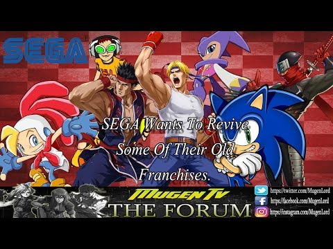 Sega Wants to Revive Old Franchises